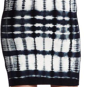 BCBC MaxAzria bandage tie dye skirt